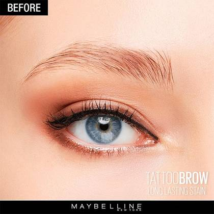 Makeup trends tattoo brow by maybelline for Tattoo eyebrow tint