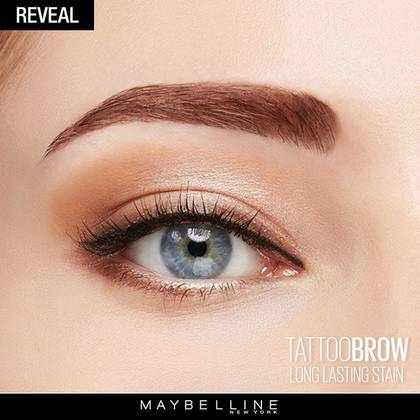 maybelline tattoo brow gel tint instructions