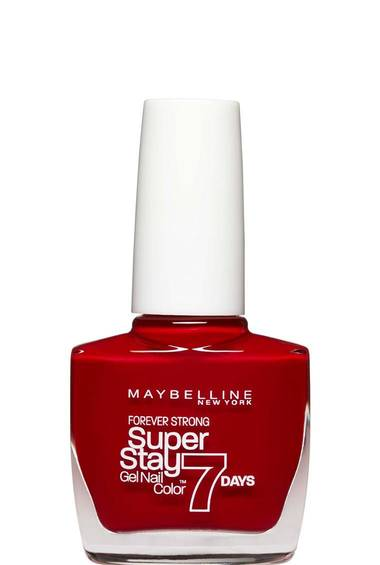 Super Stay 7 Days_Deep Red_Nails