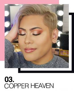 Maybelline Festival Trends Copper Heaven Makeup Look